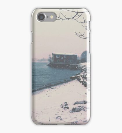Winter By the Sea iPhone Case/Skin