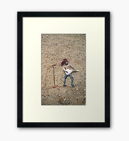 Guitar V Framed Print