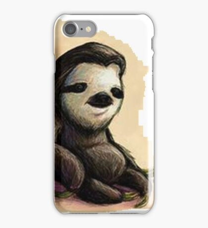 Sloth  relaxed iPhone Case/Skin
