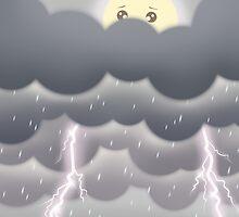 Cute Sky 4- Stormy by zeecyanide
