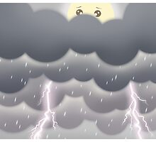 Cute Sky 4- Stormy Photographic Print