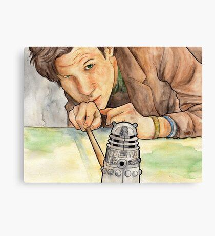 Doctor Who - Dalek Canvas Print