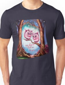 My Heart Led Me to You - Valentine Monsters Unisex T-Shirt