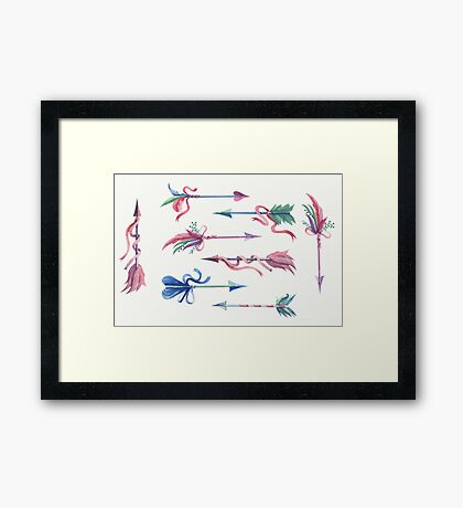 Fairy Arrows Framed Print