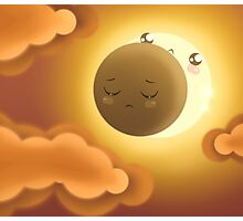 Cute Sky 7- Eclipse Photographic Print
