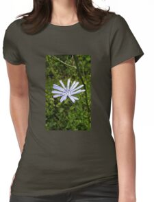 Japanese Cabbage Flower Womens Fitted T-Shirt