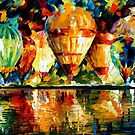 Balloon Show — Buy Now Link - www.etsy.com/listing/209811981 by Leonid  Afremov