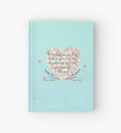 At the Sea Hardcover Journal