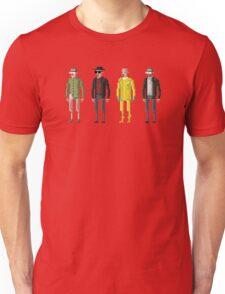 8-Bit TV Breaking Bad Heisenberg Unisex T-Shirt
