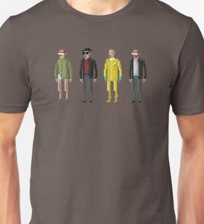 8-Bit TV Breaking Bad Heisenberg Unisex T-Shirt