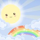 Cute Sky 6- Sunshine & Rainbows by zeecyanide