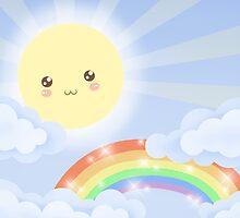 Cute Sky 6- Sunshine & Rainbows by zeecyanide