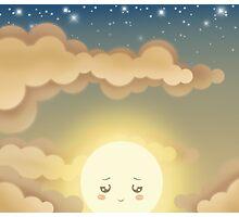Cute Sky 9- Sunset Photographic Print