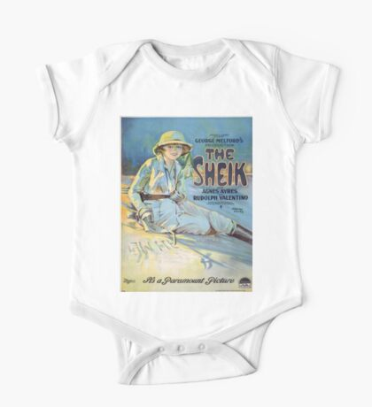 Vintage poster - The Sheik One Piece - Short Sleeve