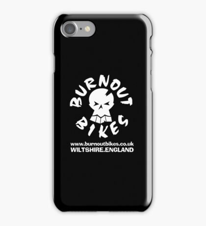 Burnout Bikes Racing iPhone Case/Skin
