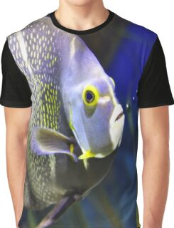 Fish Bubbles Graphic T-Shirt