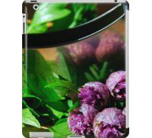 Cutting herbs iPad Case/Skin