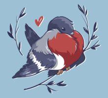 Red Heart Bird Kids Clothes