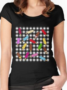Ice-cream  kingdom  Women's Fitted Scoop T-Shirt
