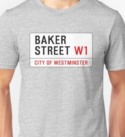 Baker Street Sign – 221B, Sherlock Unisex T-Shirt