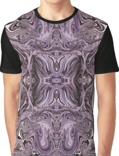 Lavender Fractal Graphic T-Shirt