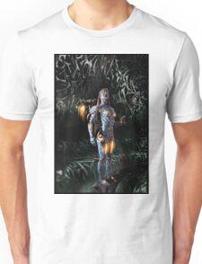 Robot Angel Painting 023 Unisex T-Shirt