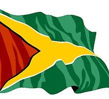 Guyana Flag by kwg2200
