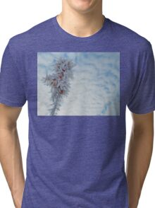 Frosted plant Tri-blend T-Shirt