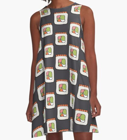 Sushi lovers A-Line Dress