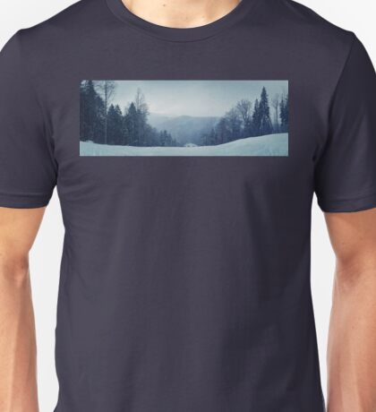 Mount Snowing Unisex T-Shirt