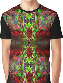 Psychedelic Oval Graphic T-Shirt