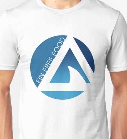 shark fin free food tricircles Unisex T-Shirt