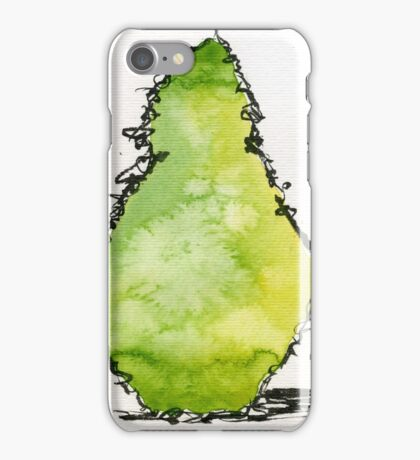 Pear abstract iPhone Case/Skin