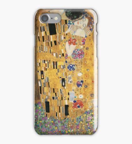 the kiss | gustav klimt iPhone Case/Skin