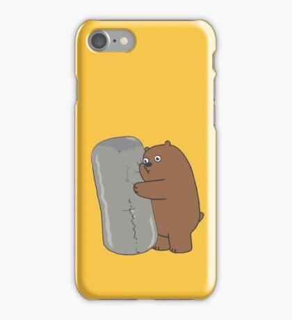 We Bare Bears, Griz Comfort Burrito iPhone Case/Skin