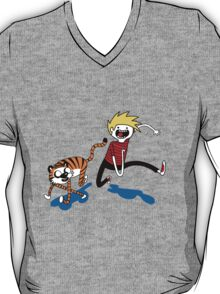 Adventure Time with Calvin and Hobbes T-Shirt