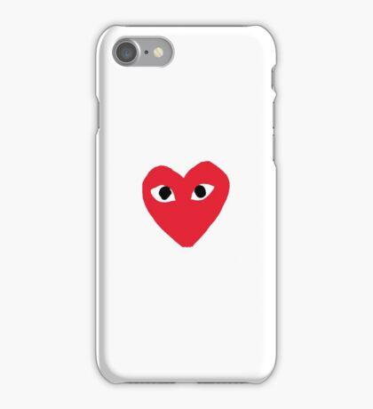 Comme Des Garcons - Play iPhone Case/Skin