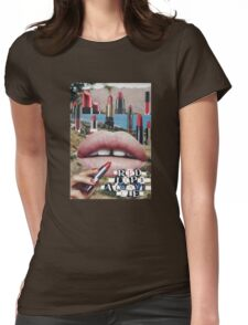 Lipstick Valley Womens Fitted T-Shirt