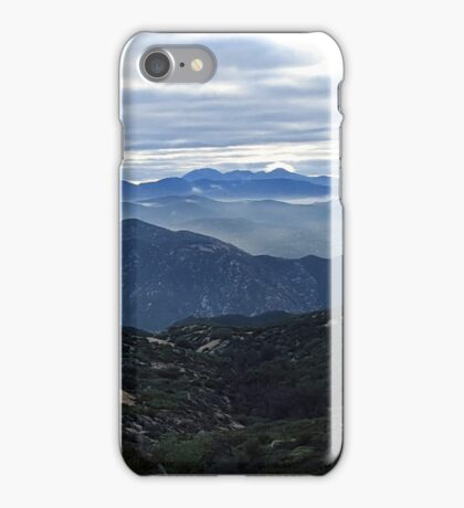Jamul Mountains in Light iPhone Case/Skin