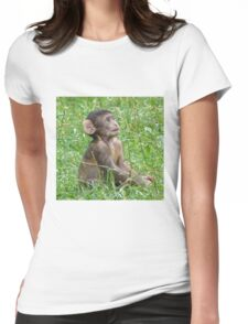 Waiting for Mum Womens Fitted T-Shirt