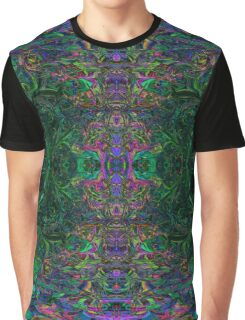 Earth Fractal Graphic T-Shirt