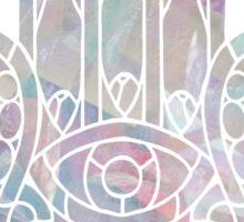Pastel Crystal Hamsa Sticker