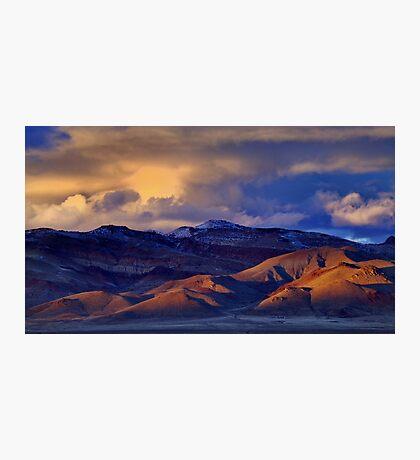 Palomino Valley Winter Sunset  Photographic Print