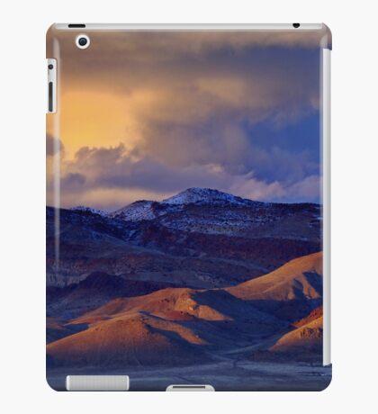 Palomino Valley Winter Sunset  iPad Case/Skin