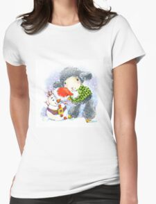sheep. 01. New Year series Womens Fitted T-Shirt