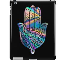 Rainbow Holographic Hamsa iPad Case/Skin