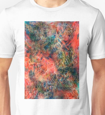 Sketchy Abstract Unisex T-Shirt