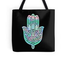 Holographic Hamsa Tote Bag
