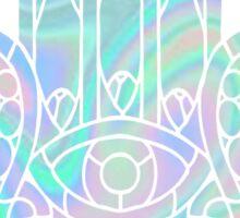 Holographic Hamsa Sticker