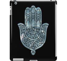 Water Ripple Hamsa iPad Case/Skin